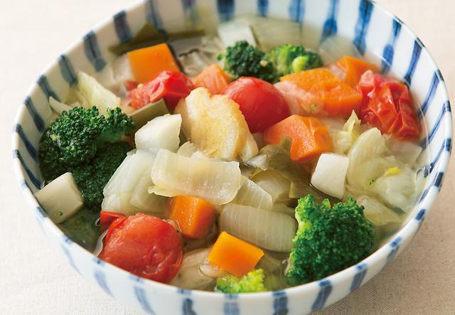 画像: 「野菜スープ」基本の食べ方