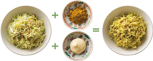 画像4: 【腸内環境の改善に】食物繊維が「ヤセ菌」を増やす「キャベツ納豆」の作り方&アレンジレシピ