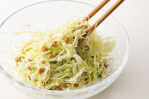 画像2: 「キャベツ納豆」 基本の作り方