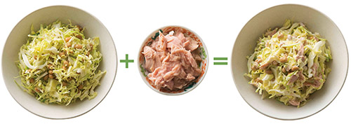画像5: 【腸内環境の改善に】食物繊維が「ヤセ菌」を増やす「キャベツ納豆」の作り方&アレンジレシピ