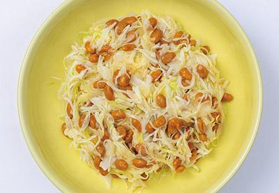 画像: 抗酸化&抗老化作用もあるキャベツ納豆