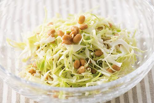 画像3: 「キャベツ納豆」 基本の作り方