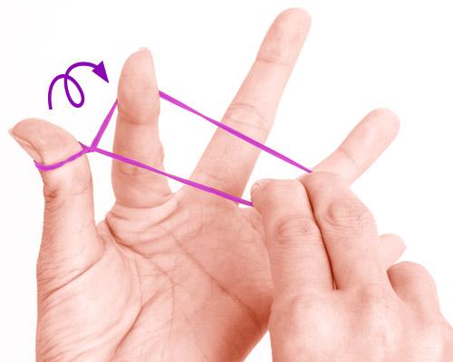 画像1: 基本の「指先巻き」のやり方