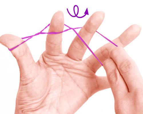 画像2: 基本の「指先巻き」のやり方
