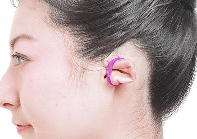 画像4: 耳輪ゴムのやり方
