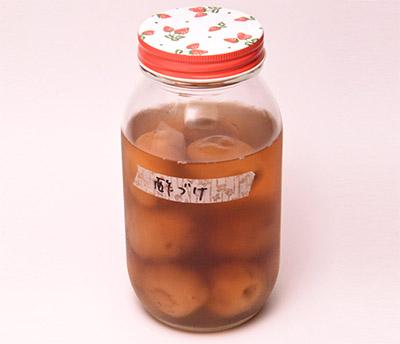 画像: 小川さんの酢漬け梅。講座でも勧めて大好評!