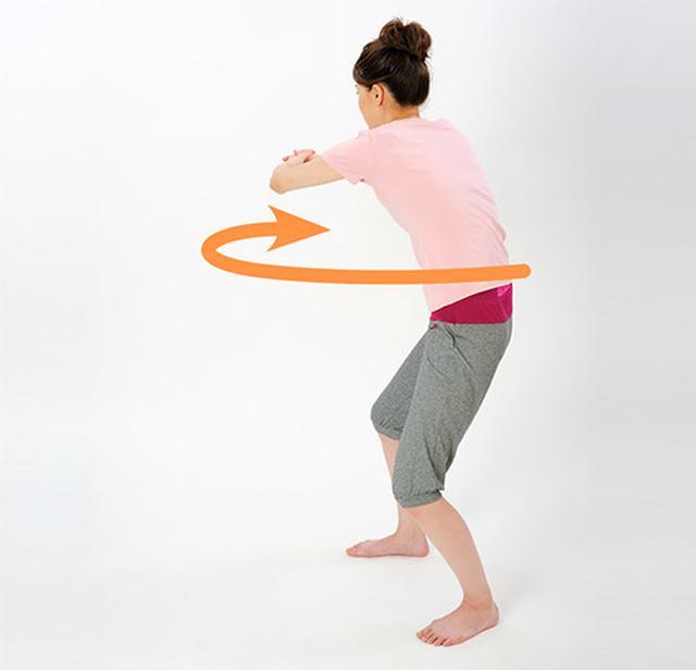 画像5: 「横笛呼吸」と「ボール抱っこストレッチ」のやり方