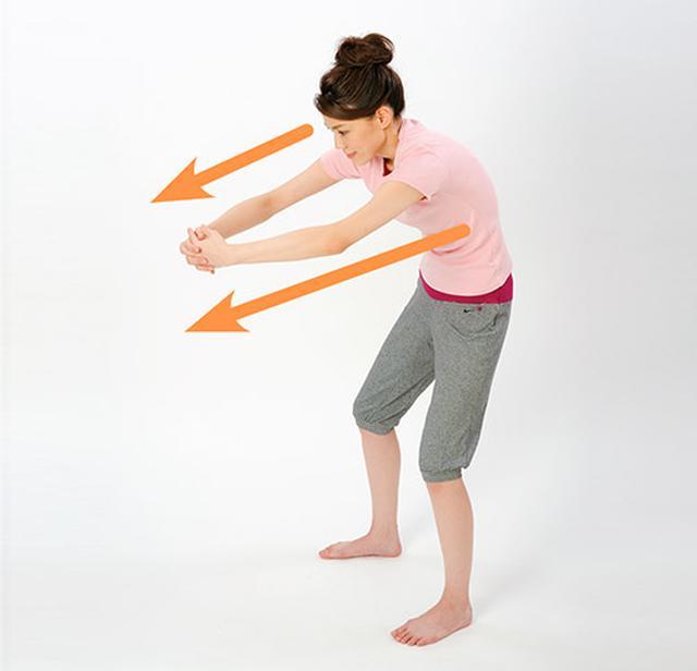 画像4: 「横笛呼吸」と「ボール抱っこストレッチ」のやり方