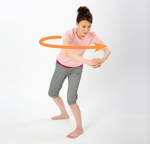 画像6: 「横笛呼吸」と「ボール抱っこストレッチ」のやり方