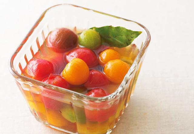 画像: ミニトマト × 酢 de 「ミニトマトのピクルス」