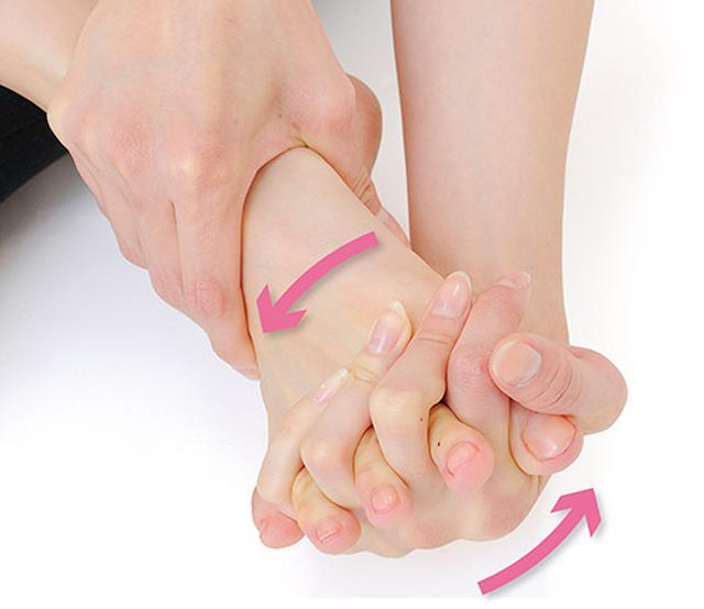 画像5: 足の指回しのやり方
