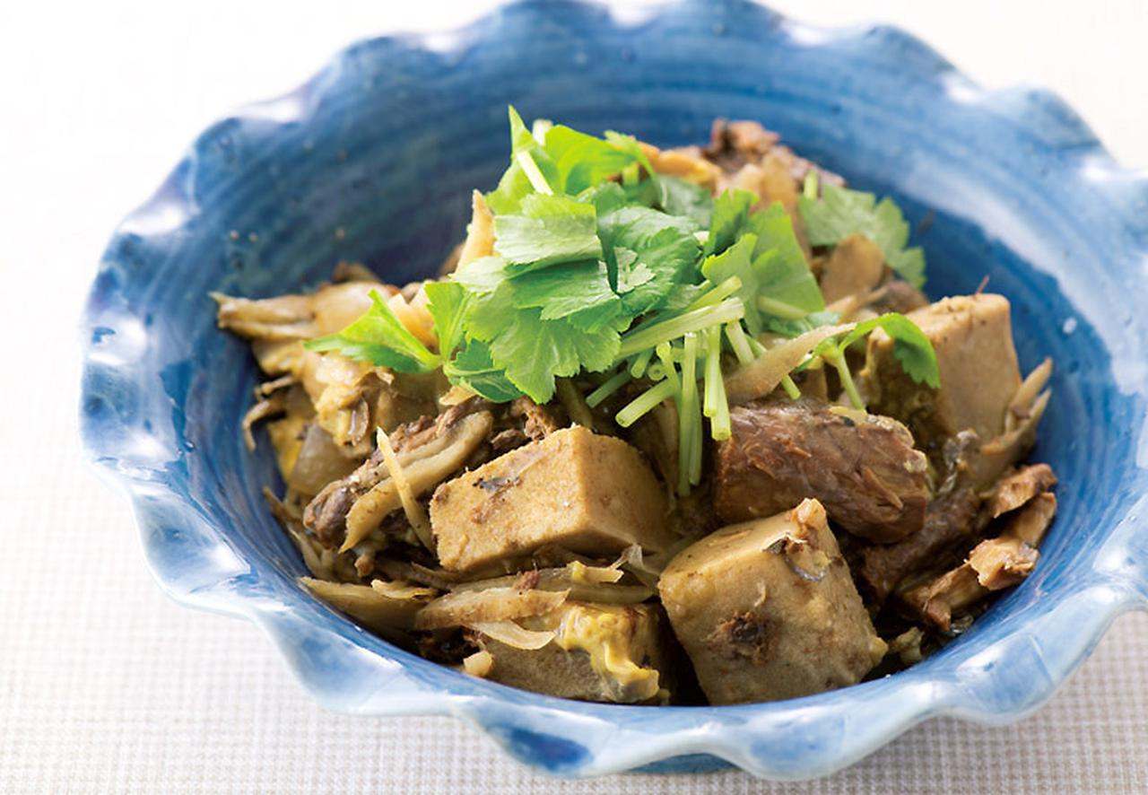 画像2: サバ缶、高野豆腐、卵でタイプの違うたんぱく質とカルシウムがてんこ盛り! サバ缶と高野豆腐の柳川風