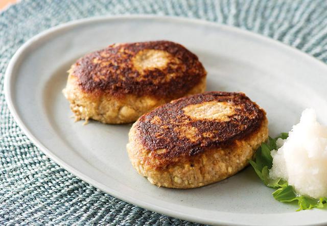画像2: フワフワした食感のさっぱり和風ハンバーグ サバ缶の豆腐ハンバーグ