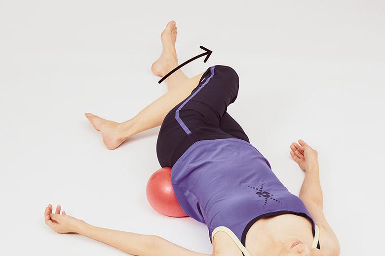 画像5: 「腰」のボールゆらゆら