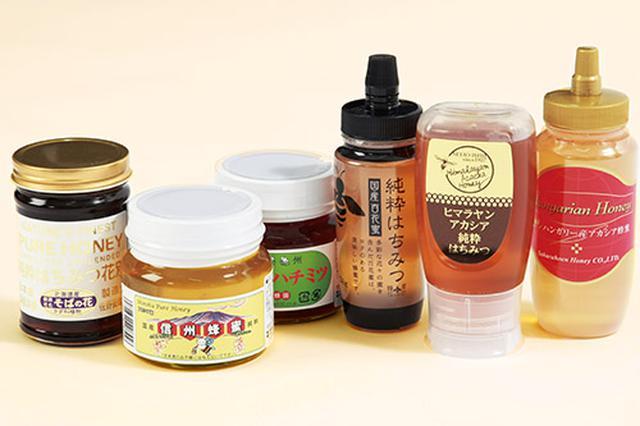 画像: さまざまな種類のハチミツを試すのもお勧め。