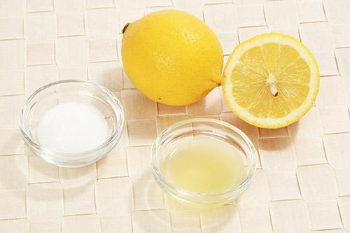 画像: レモンや塩を加えてもよい。