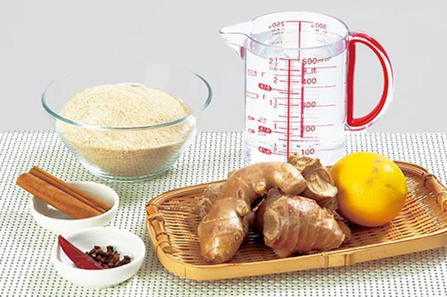 画像1: シナモンジンジャー水の作り方