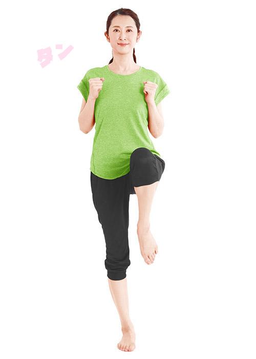 画像4: 【3拍子ウォークとは】やり方のコツは3歩目を少し出すだけ やせる、姿勢がよくなる、室内でできると話題
