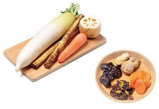 画像: 体を温める食材
