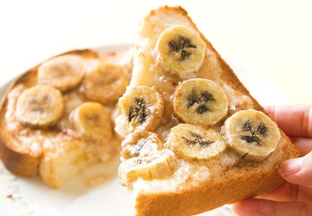 画像: 甘酒活用レシピ 甘酒バタークリームのバナナトースト