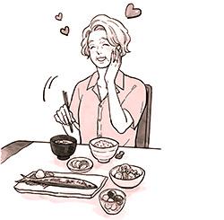 画像: 食事に気をつける人は病気をしても回復が早い