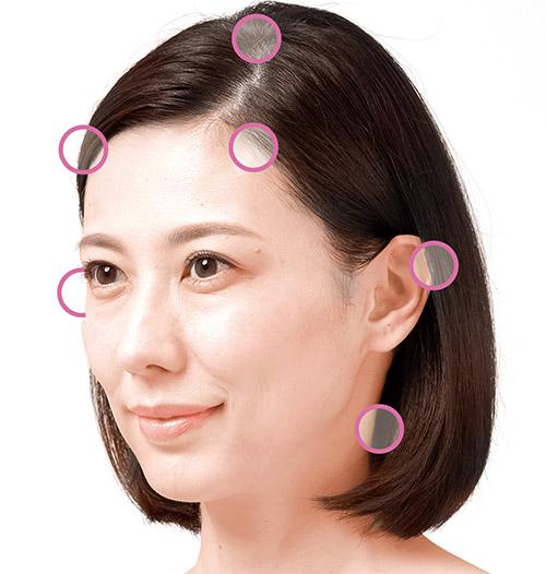 画像1: 頭皮のこすり洗いのやり方