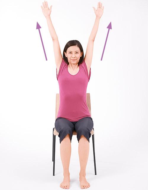 画像3: 腎臓病にお勧めの運動③ ストレッチ