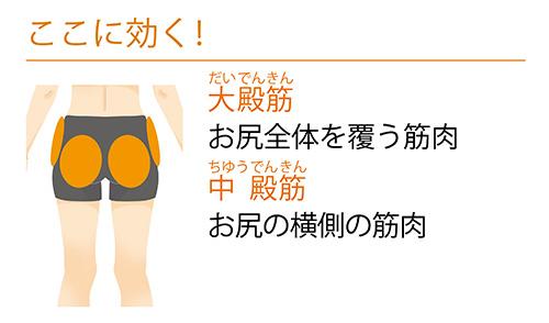 画像1: ②お尻の外側を鍛えて丸くする「アブダクション」
