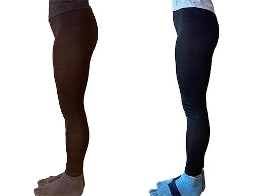 画像2: 左:トレーニング前→右:2週間トレーニング後