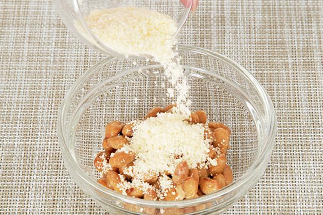 画像2: 基本的なチーズ納豆の作り方