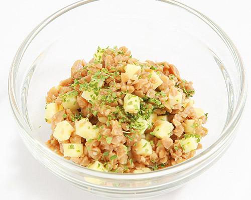 画像: 愛知県豊田市の給食で大人気!「納豆あえ」の作り方