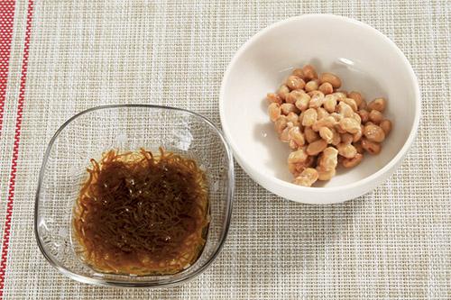 画像1: モズク酢納豆の作り方