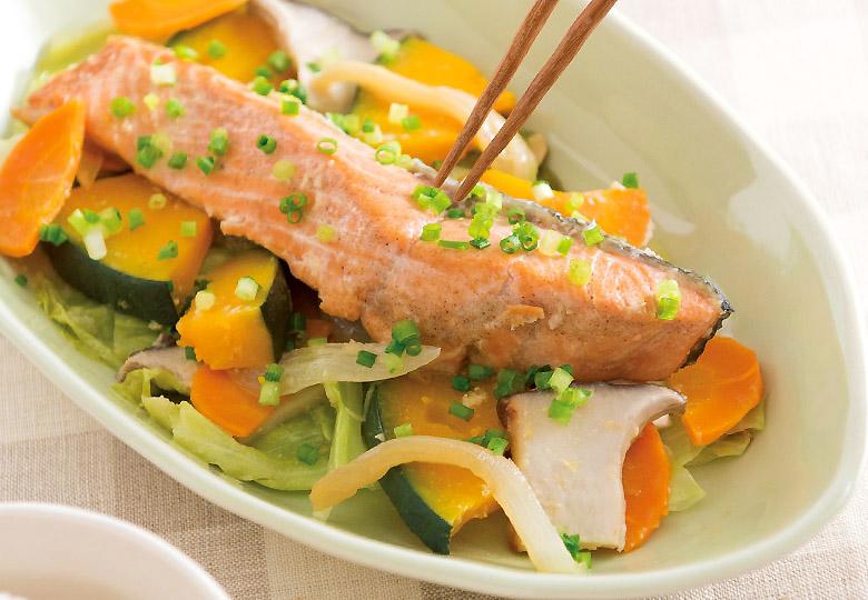画像: エネルギー:294kcal 食物繊維:6.2g(1人分当たり) たっぷりの野菜を無理なく食べられる!