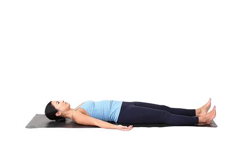 画像2: POINT 寝たまま太腿のストレッチ