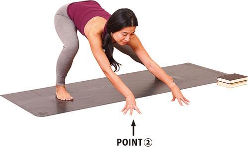 画像3: Step① ピラミッドポーズのバリエーション