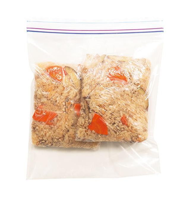 画像: おかずは冷蔵、ご飯は冷凍 して 送るのがおすすめ