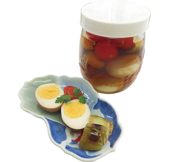 画像: 村上先生の黒酢漬け卵