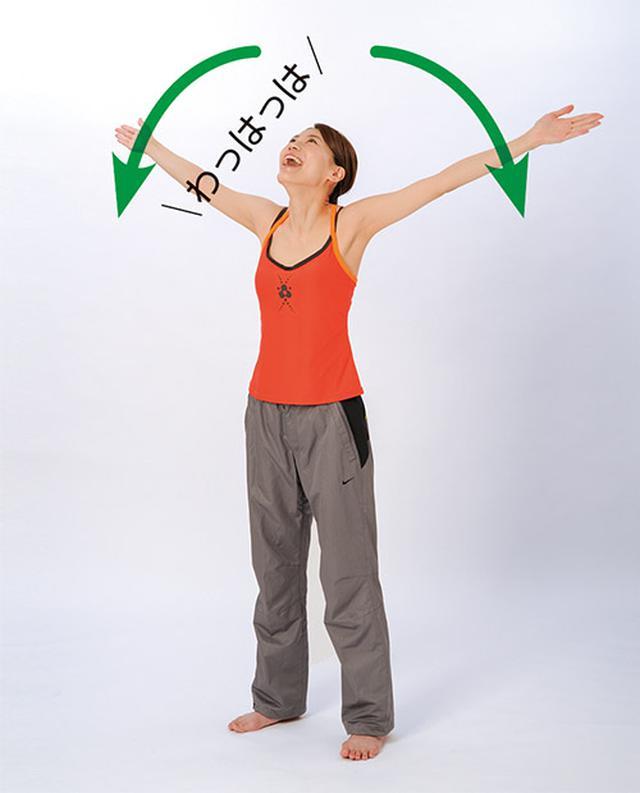 画像4: あくび体操のやり方