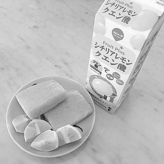 画像: レモンコンニャクジュース