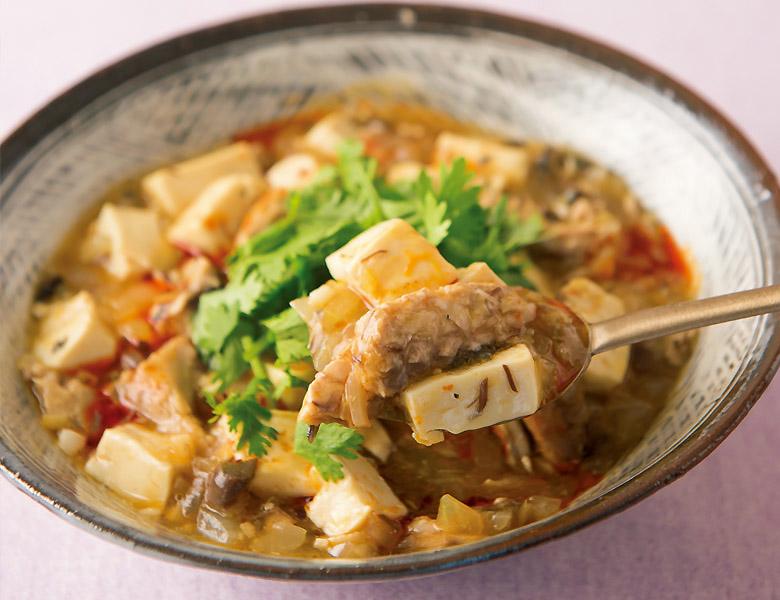 画像: サバ缶麻婆豆腐