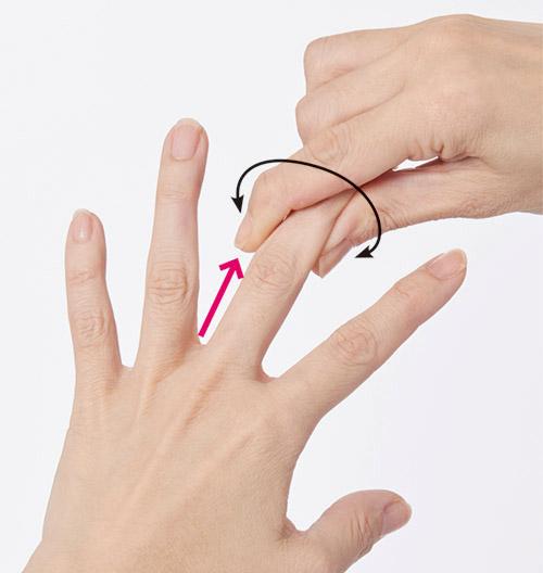画像2: 【指を1本ずつしごく方法】