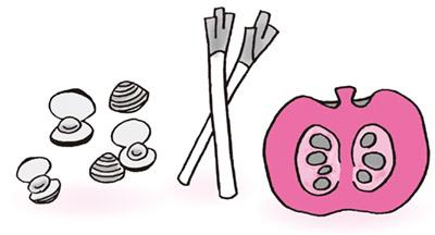 画像: ▼「気」を改善する食材