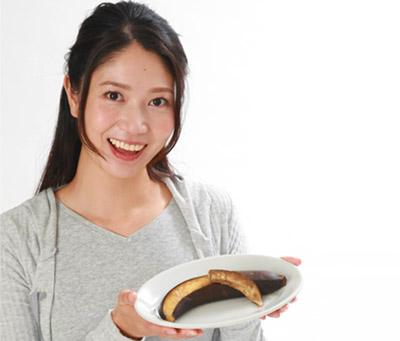 画像: 焼きバナナはダイエットにも最適!