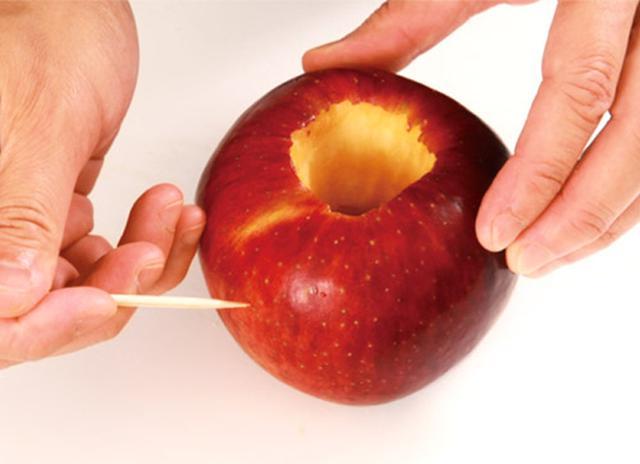 画像2: 焼きリンゴの作り方