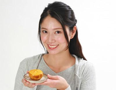 画像: 焼き柿は健康効果抜群!