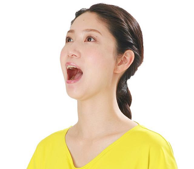 画像: 口開けトレーニングのやり方