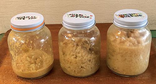 画像: 「はつたもの」で使用している発酵ショウガ