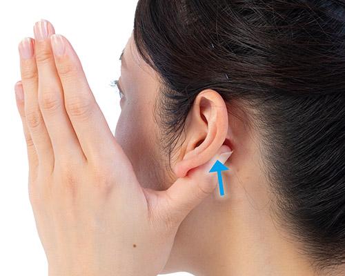 画像3: 耳たぶあんまのやり方