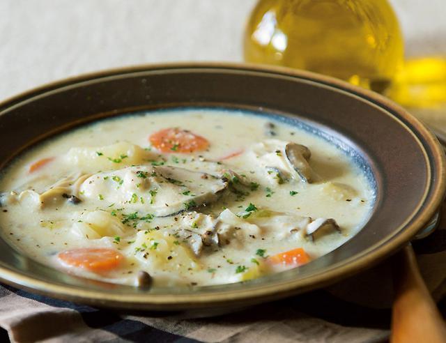 画像: 寒~い日にピッタリの栄養満点・具だくさんスープ。