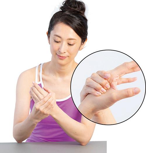 画像5: 手足のツボも便秘や下痢に有効